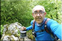 Jaunden mendiaren gailurra 1.035 m. - 2018ko ekainaren 2an