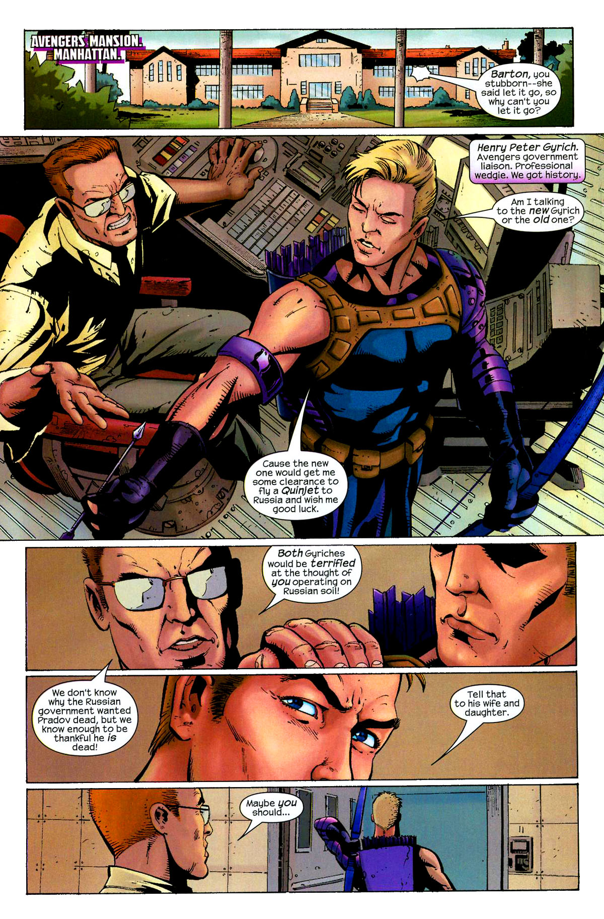Hawkeye (2003) Issue #8 #8 - English 7