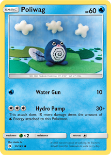 Poliwag Sun and Moon Pokemon Card