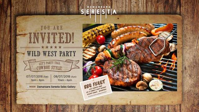 You Are Invited! Let's Party Cowboy Style.