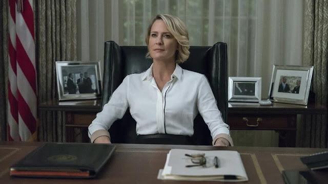 Quinta temporada de 'House of Cards', Claire presidente