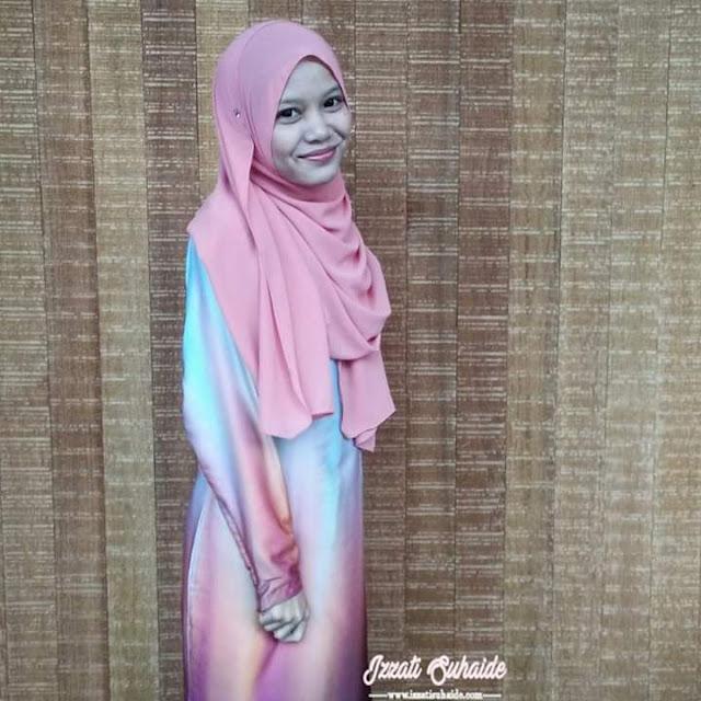 Kisah Penulis Blog Izzati Suhaide dari Perspektif Azlinda Alin