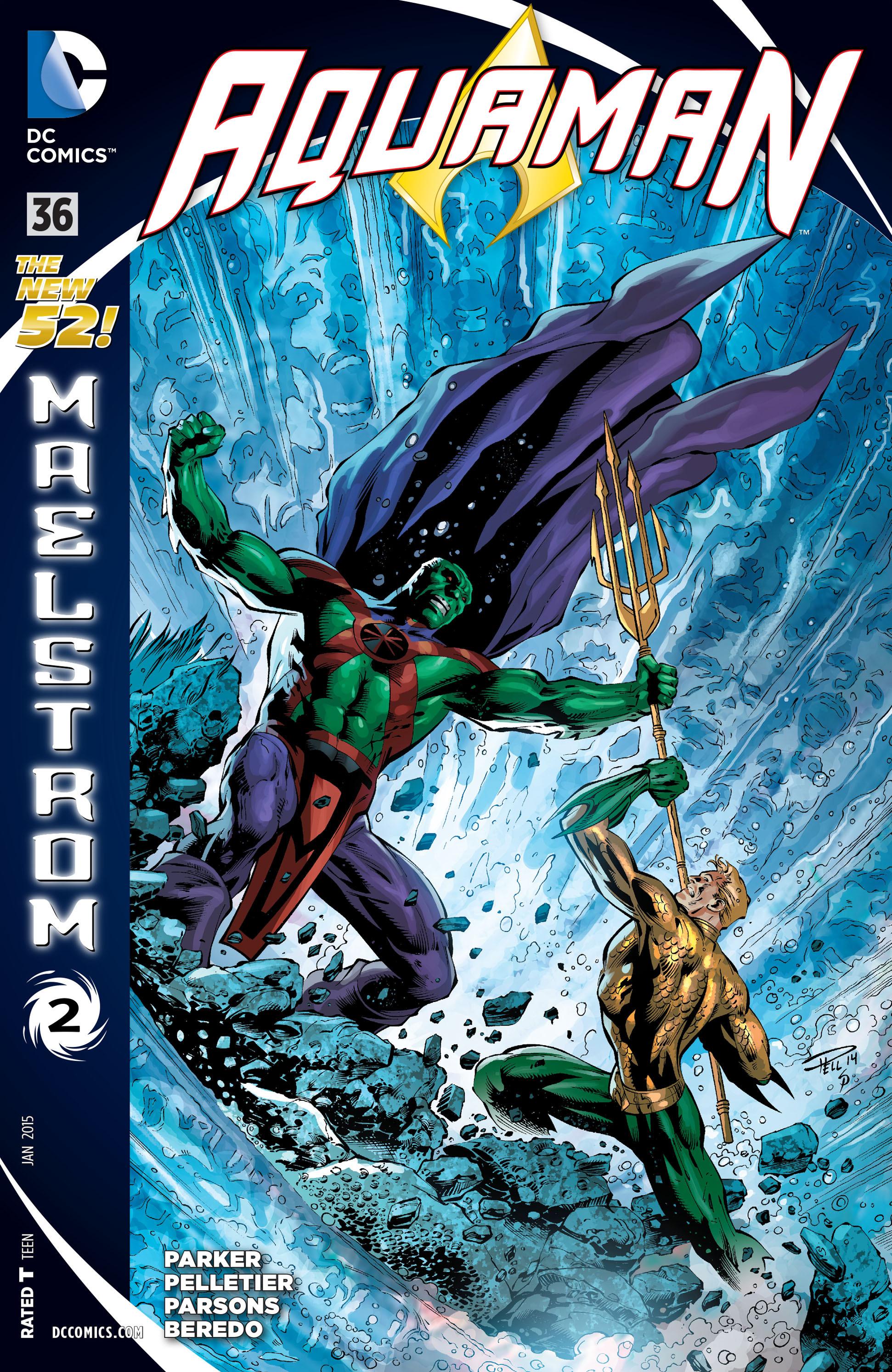 Read online Aquaman (2011) comic -  Issue #36 - 1