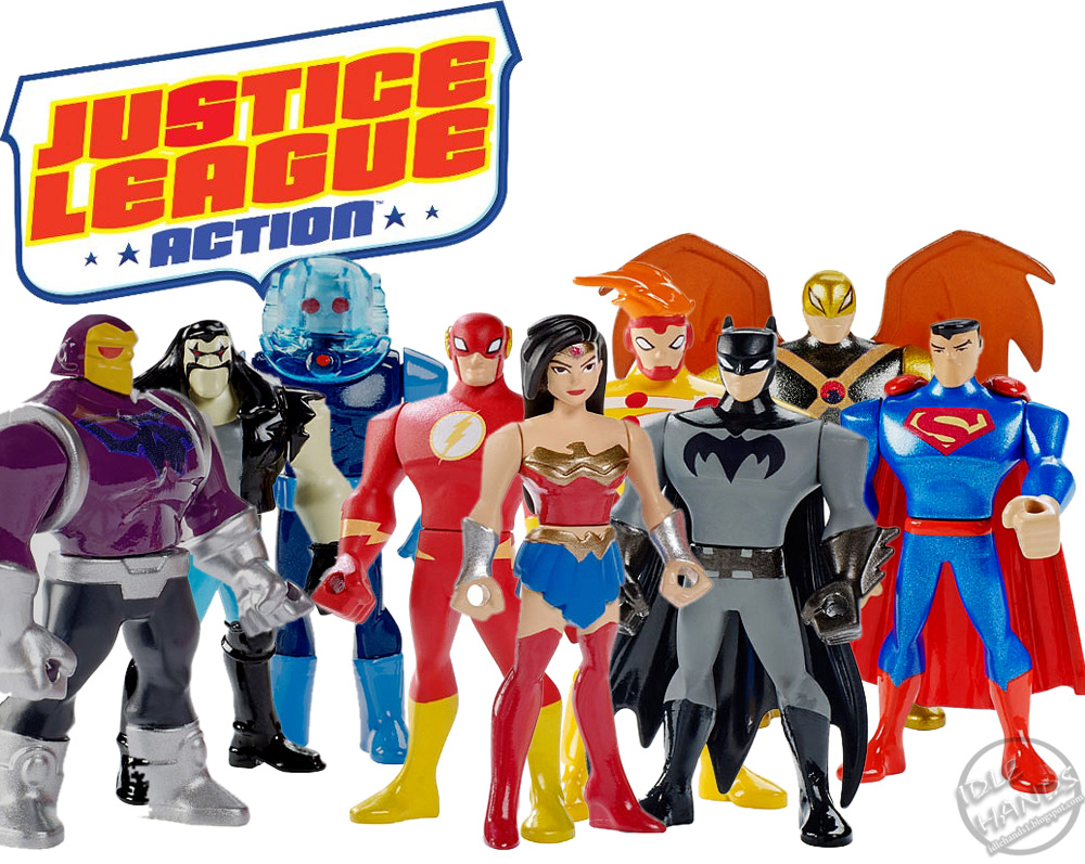 justice league action toys