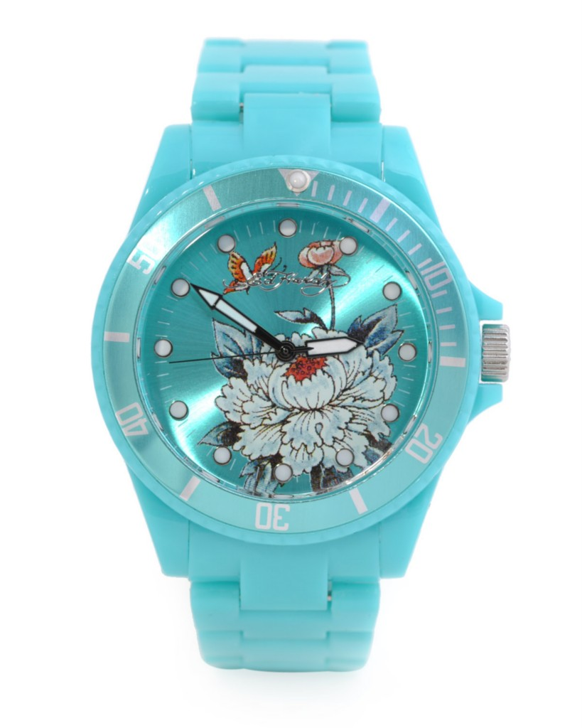 ED HARDY BY CHRISTIAN AUDIGIER LADIES WATCH - TURQOISE Brand Name  Ed Hardy  Item Type  Watch Style Name  VIP Model  VP-LB Material  Stainless steel aaff3ca84b