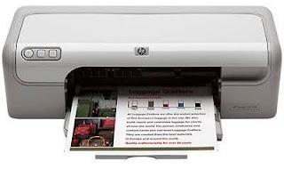 Mengatasi Blink/Error Pada Printer HP Deksjet