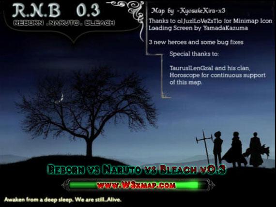 Reborn vs Naruto vs Bleach v0 3a