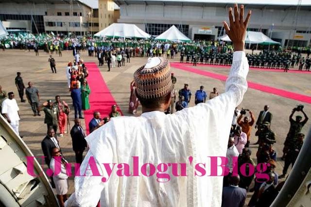 President Buhari Off To Abidjan To Attend EU-AU Summit
