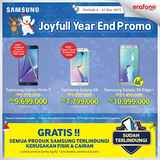 Joyful Year End Promo Samsung Galaxy S6