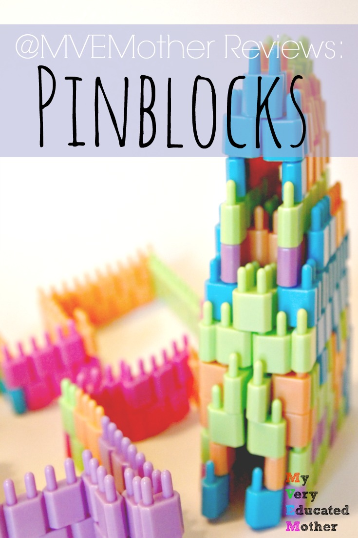 Holiday Gift Idea for kids who love to Building Blocks - Pinblocks, a new twist on an old idea!
