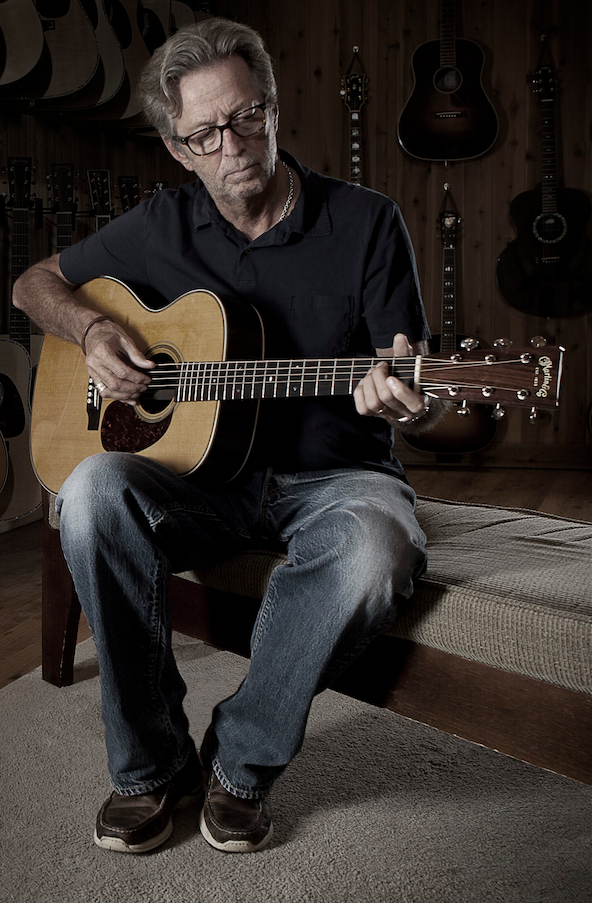 MusicTelevision.Com feature Eric Clapton music video Robert Johnson song Stones In My Passway