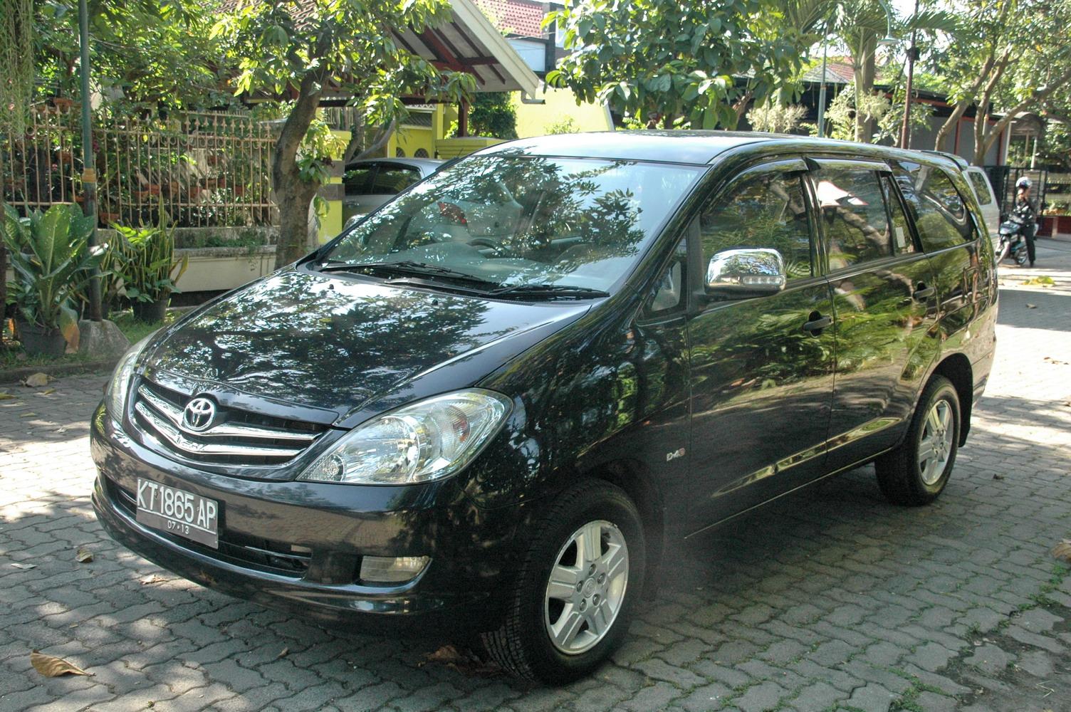 Konsumsi Bbm All New Kijang Innova Diesel Toyota Agya Trd Sportivo Automoda G 2008