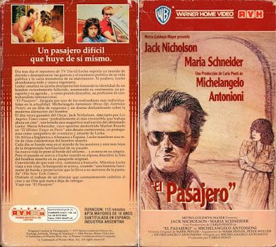 El Pasajero (1975) Michelangelo Antonioni