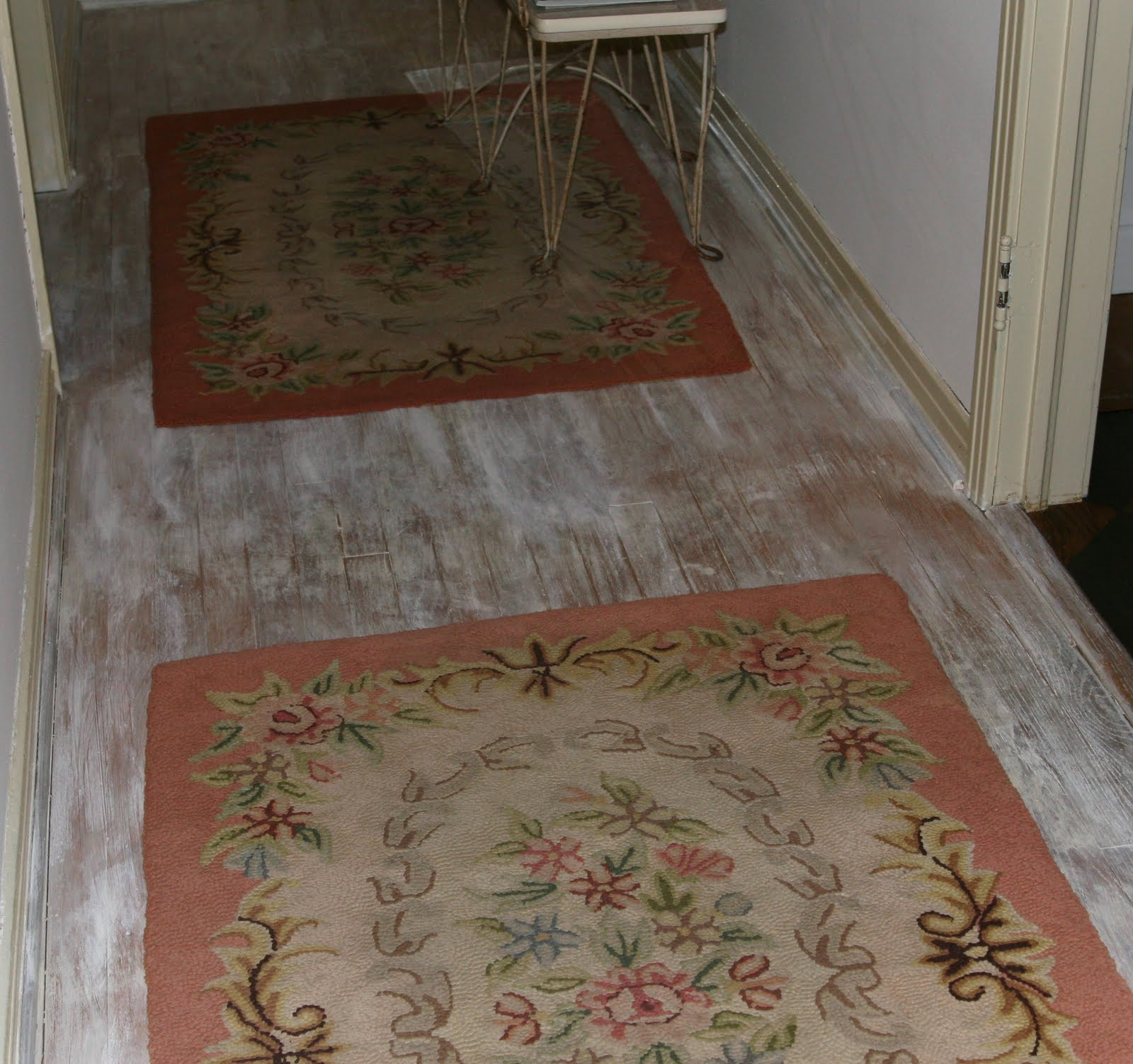 ~ Floors Limed Washed With Chalk Paint® ~