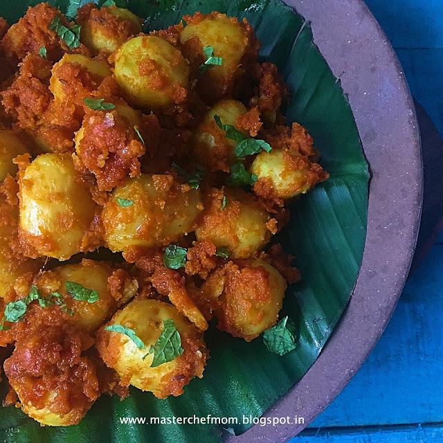 Choto Aloor Dum Recipe
