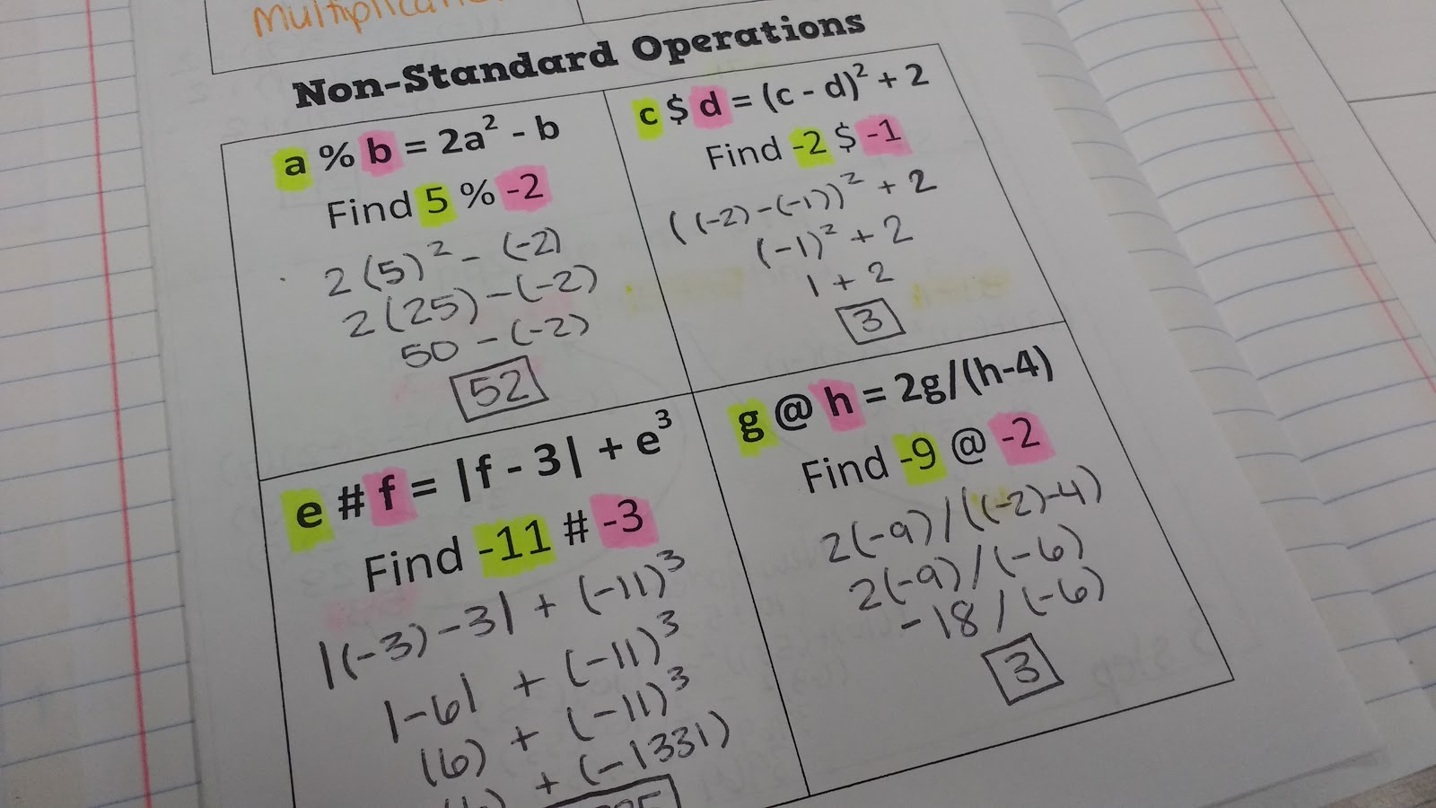 Fine Calculus Problem Generator Ornament - Math Worksheets - modopol.com