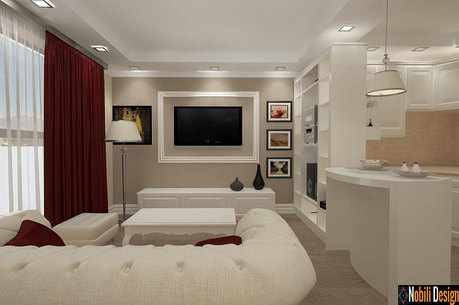 Design Interior - Amenajari Interioare - Design interior living apartament Constanta