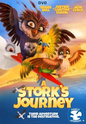 A Stork's Journey Poster