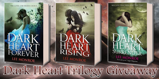 lee monroe,dark heart  trilogia