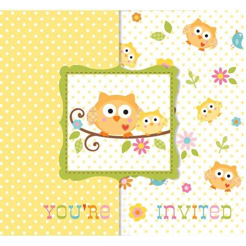 Party Animalz Party Shop: NEW HAPPI TREE OWL BABY SHOWER