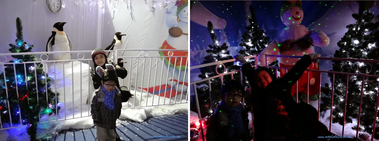 Trafford Centre Santa Grotto 2014, visit Santa, Christmas family day out Manchester