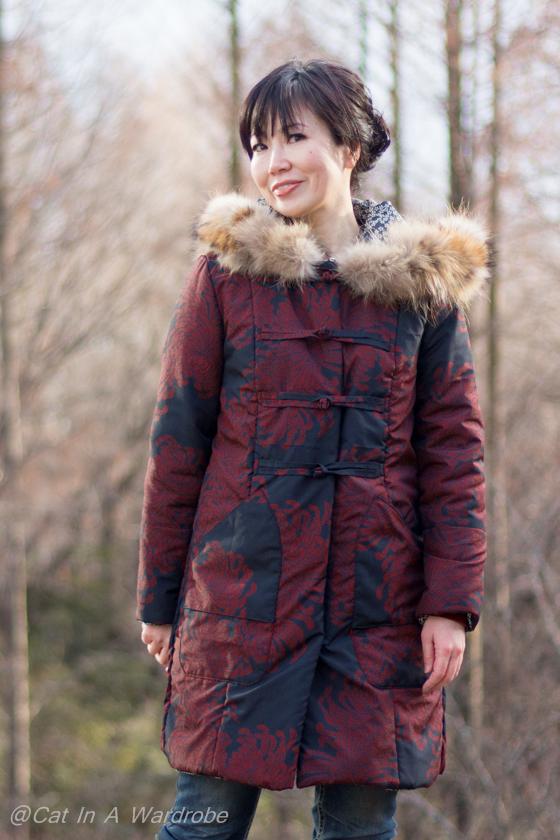 Simplicity8470 Coat Pattern