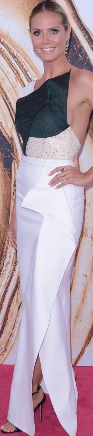 Heidi Klum 2016 CFDA Awards