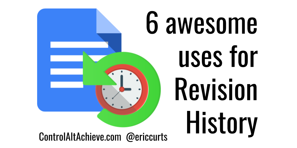 6 awesome uses for Revision History