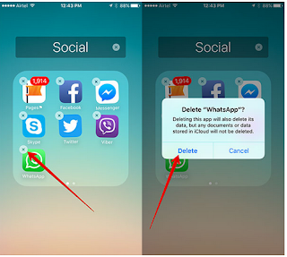 Cara Melihat Pesan Chat WhatsApp Yang Sudah Dihapus pada iPhone