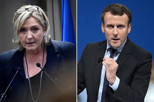 O conservador Francois Fillon e o esquerdista Jean-Luc Melenchon disseram estarem lutando pelo terceiro lugar