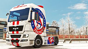 AS Trencin (red&white) skin for MAN TGX