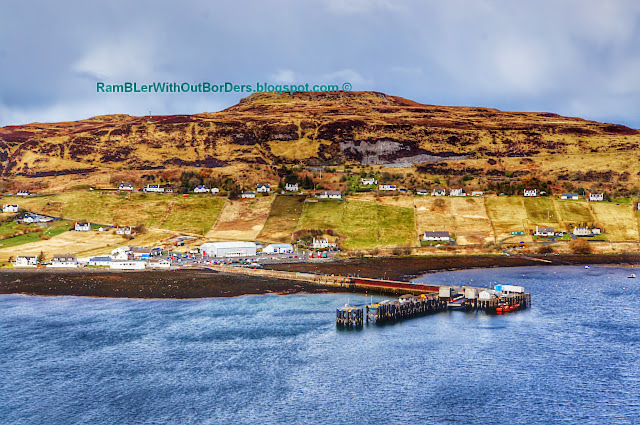 Pier, Uig, Isle of Skye, Scotland, UK