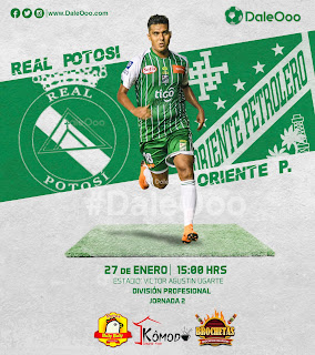 Real Potosí vs Oriente Petrolero | Fecha 2 | Torneo Apertura 2019 | División Profesional | DaleOoo