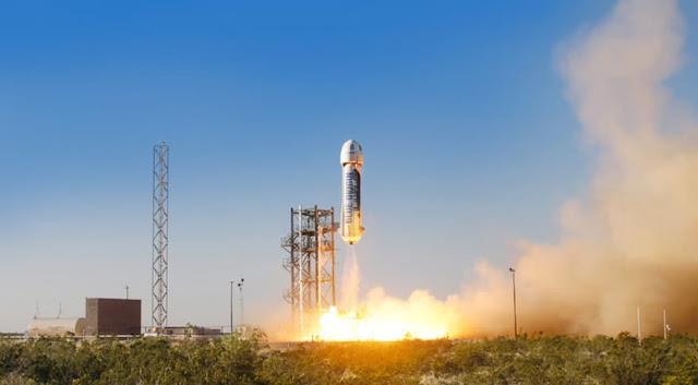 Blue Origin's New Shepard lauch