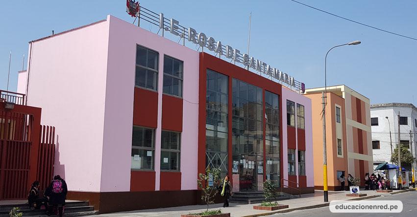 Colegio emblemático Rosa de Santa María celebró 92 años de vida institucional