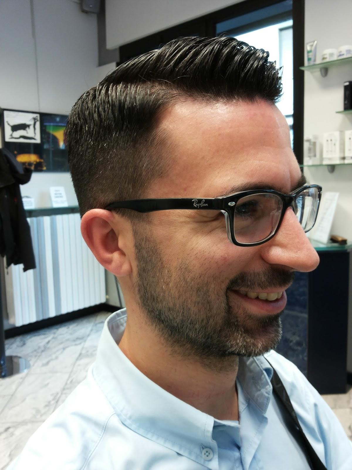 Eccezionale FIORENZO parrucchiere uomo: Taglio moderno in stile anni 50/60 WN45
