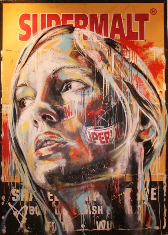Уличный художник Дэвид Уокер (David Walker) 25