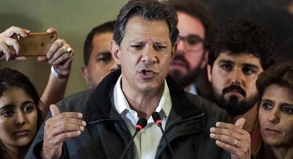 Tribunal Superior Eleitoral (TSE), multou a campanha de Fernando Haddad (PT) à Presidência