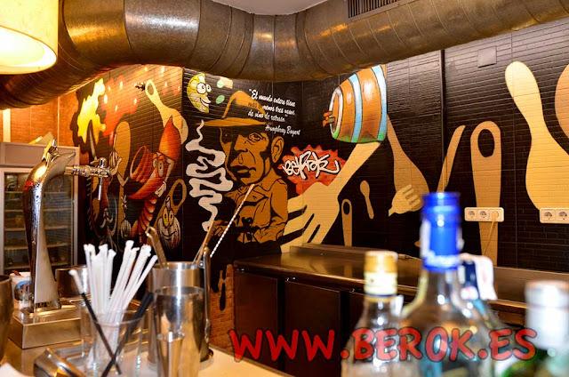 Graffiti restaurantes