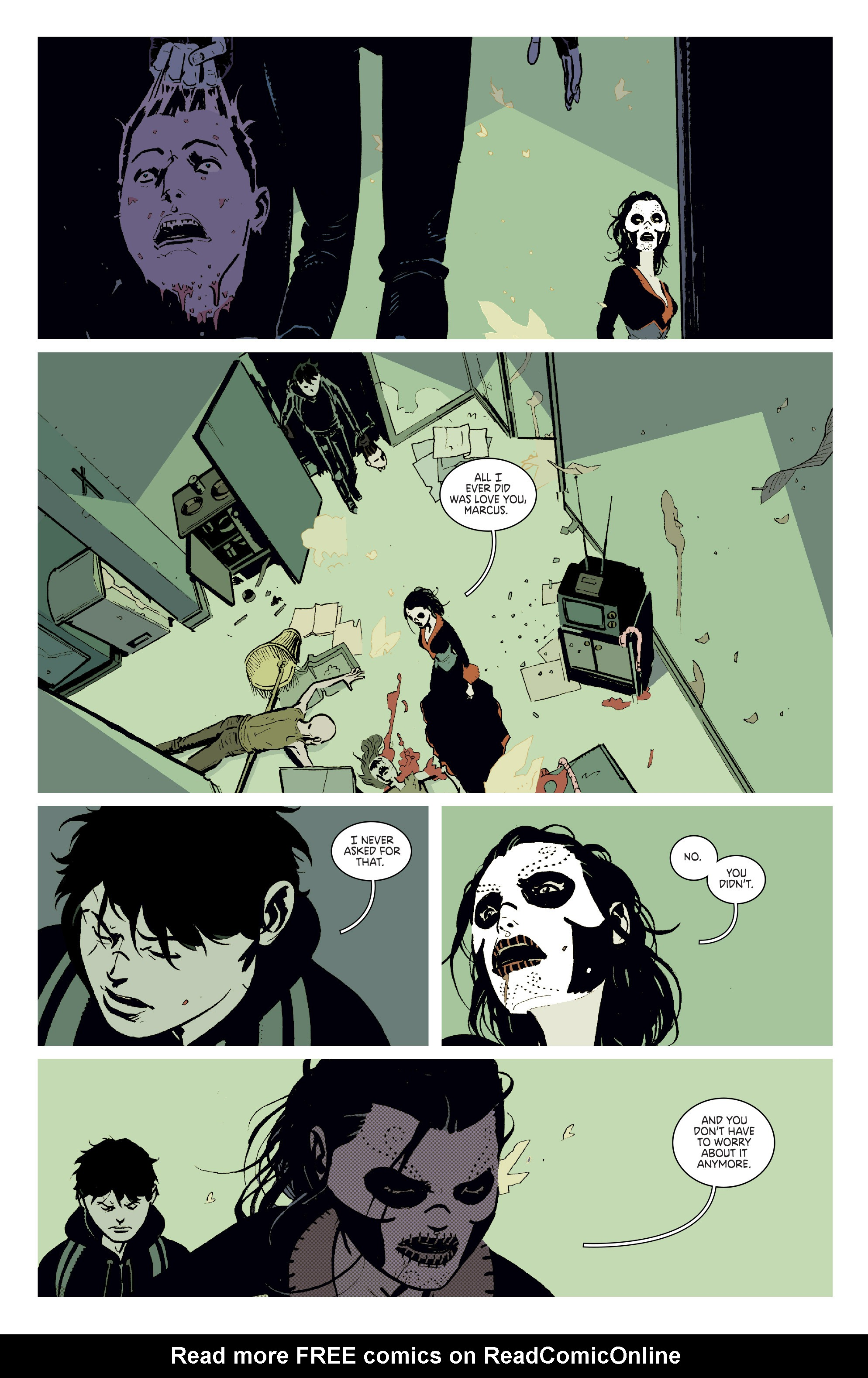 Read online Deadly Class comic -  Issue #11 - 22