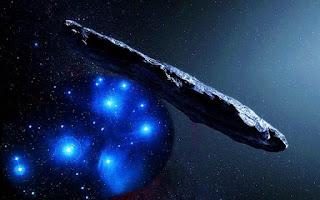 Oumuamua - Galaxia Maravillosa