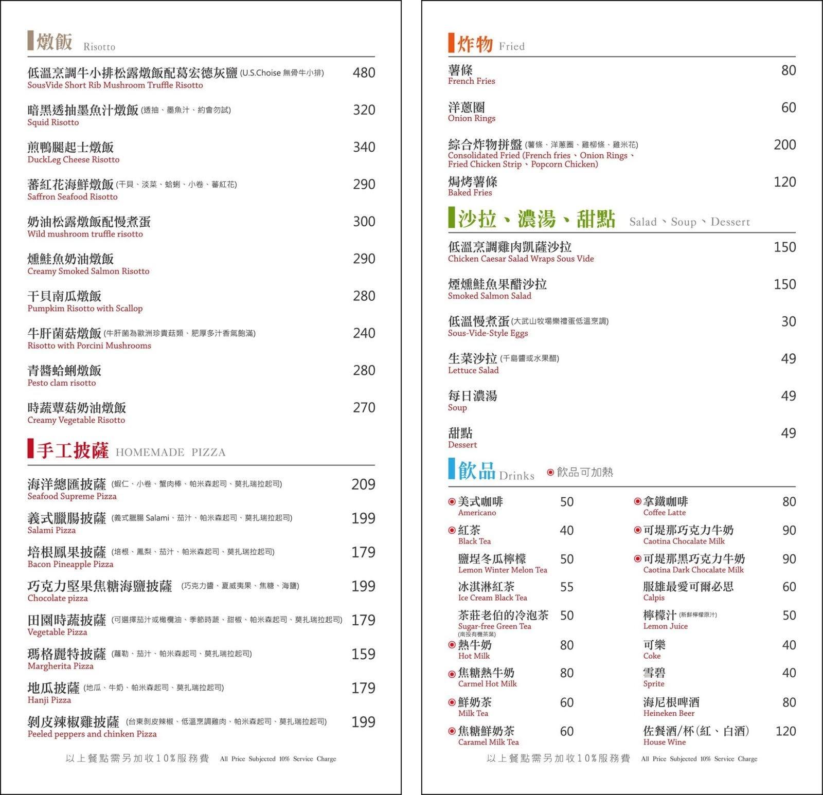 [台南][中西區] Dor,留手工義大利麵(友愛店)|食記