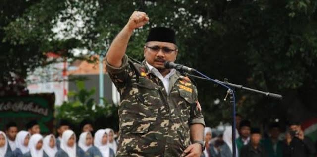 Kalau FPI Dukung Khilafah, GP Ansor: Pemerintah Jangan Ragu Sikat Saja