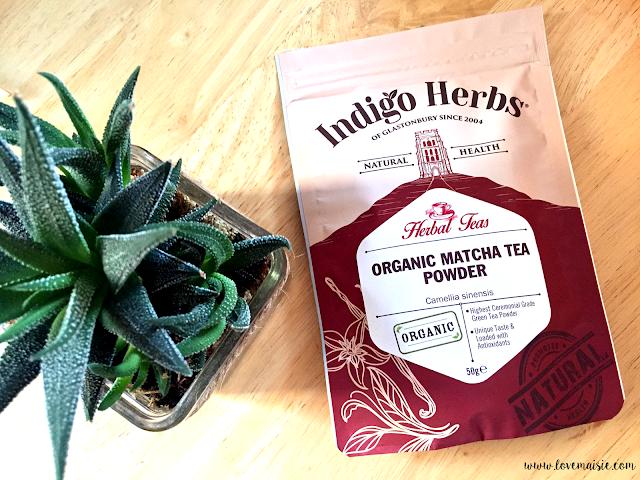 Matcha Green Tea Vegan Pancakes | Indigo herbs | Love, Maisie