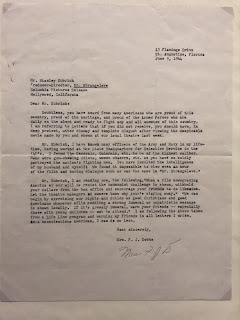 'Fan mail' for Doctor Strangelove