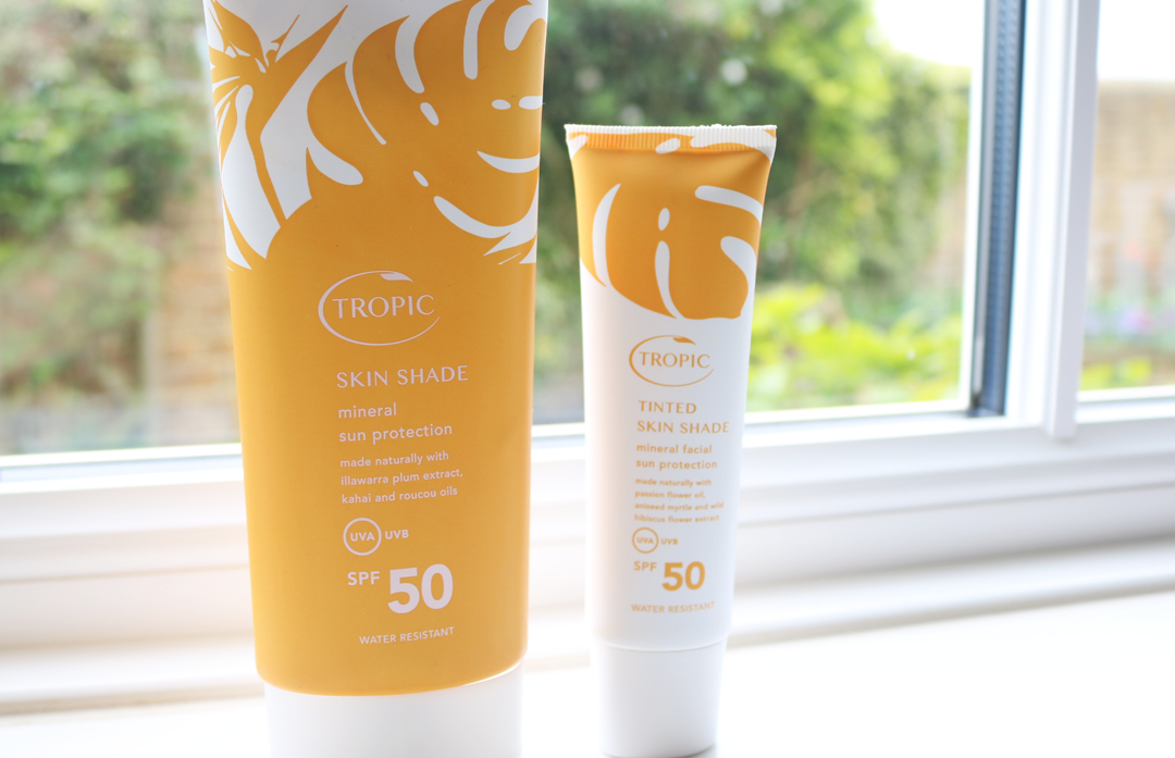 Tropic Skin Shade Mineral Sun Protection SPF 50 Tropic Tinted Skin Shade Mineral Facial Sun Protection SPF 50