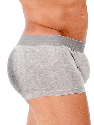 Rounderbum Padded Boxer Trunk Underwear Gray Gayrado Online Shop