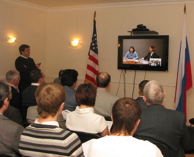Ứng dụng hệ thống hội nghị truyền hình trong chính phủ