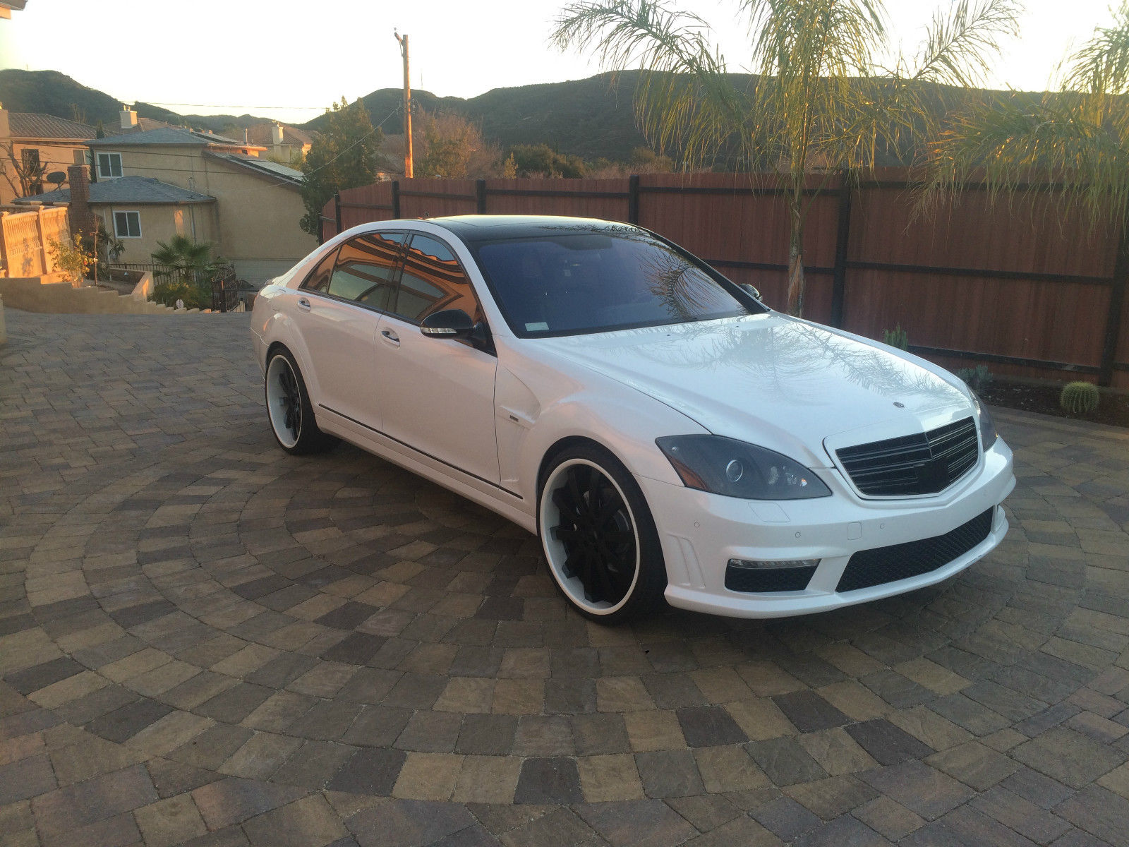2008 mercedes benz w221 s550 on r22 forgiato wheels