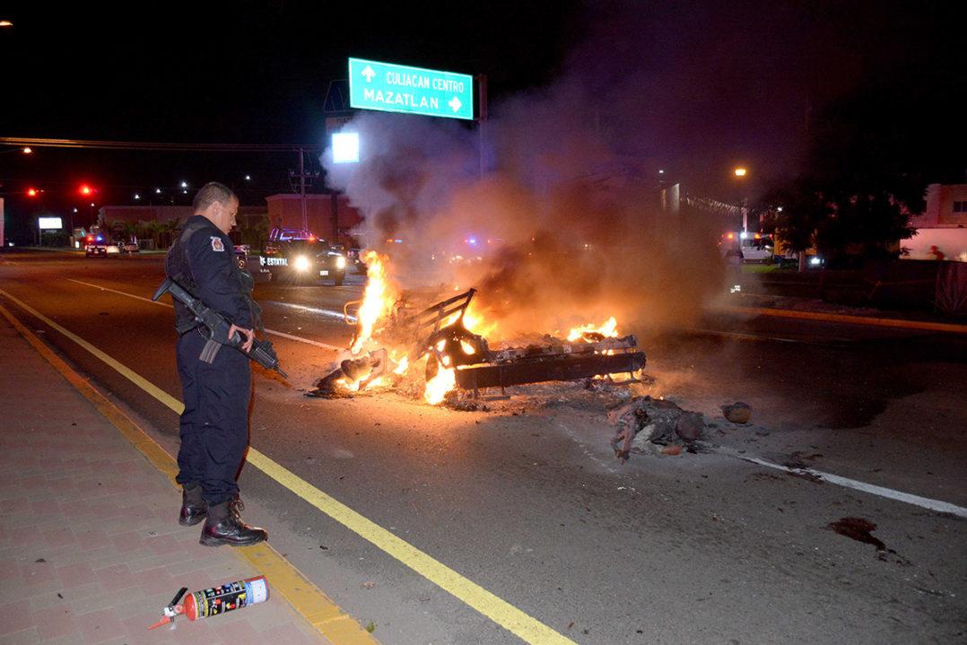 Declaración de guerra en Sinaloa